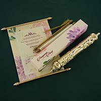 Royal Scroll Invitations - SC-6031