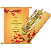 Royal Scroll Invitations - SC-6032
