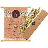 Royal Scroll Invitations - SC-6034