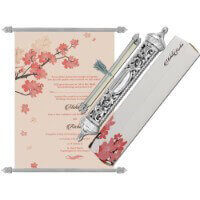 Royal Scroll Invitations - SC-6038