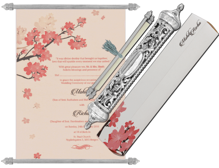 Royal Scroll Invitations - SC-6038 - 2