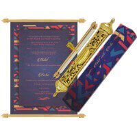 Royal Scroll Invitations - SC-6039