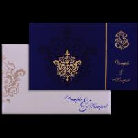 Custom Wedding Cards - CZC-7336BC