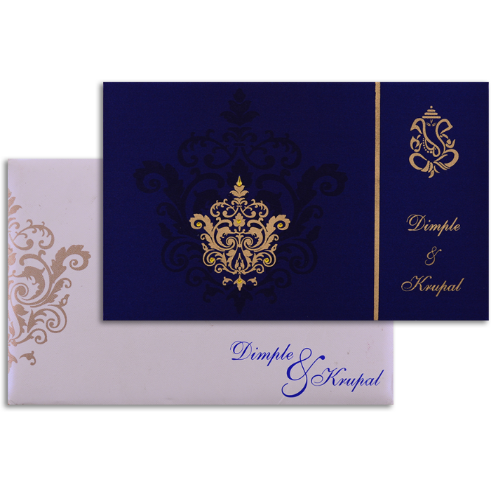 test Custom Wedding Cards - CZC-7336BC