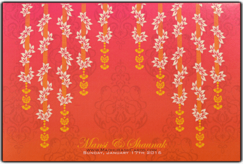 test Custom Wedding Cards - CZC-9078