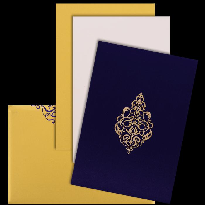 Custom Wedding Cards - CZC-9112BG - 4