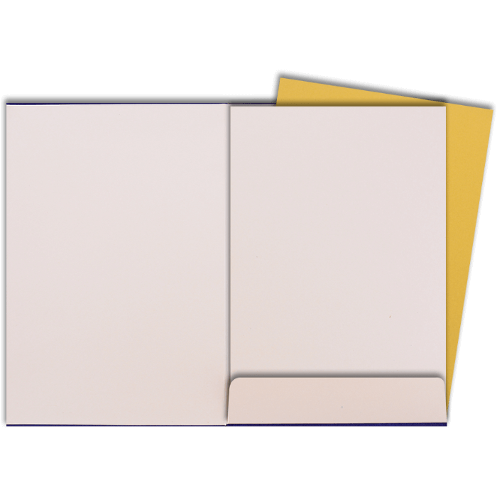 Custom Wedding Cards - CZC-9112BG - 5