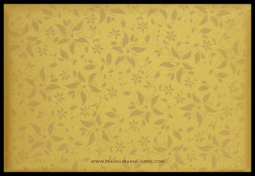Custom Wedding Cards - CZC-9113BG - 5