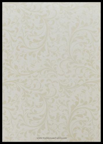 Custom Wedding Cards - CZC-9114BG - 3