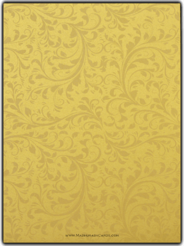 Custom Wedding Cards - CZC-9114BG - 4