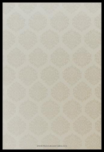 Custom Wedding Cards - CZC-9115BG - 4