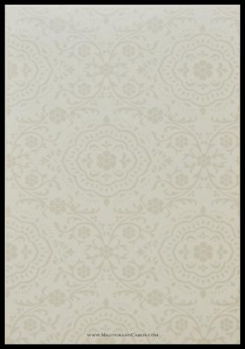 Custom Wedding Cards - CZC-9118BG - 4