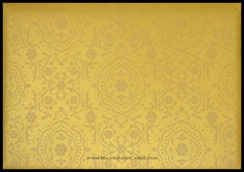 Custom Wedding Cards - CZC-9118BG - 5