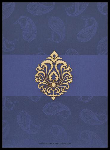 test Custom Wedding Cards - CZC-9119BG
