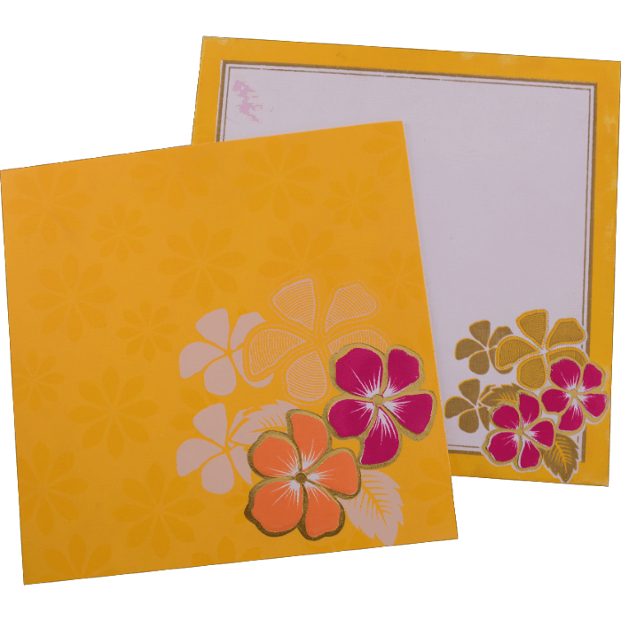 Muslim Wedding Cards - MWC-15157