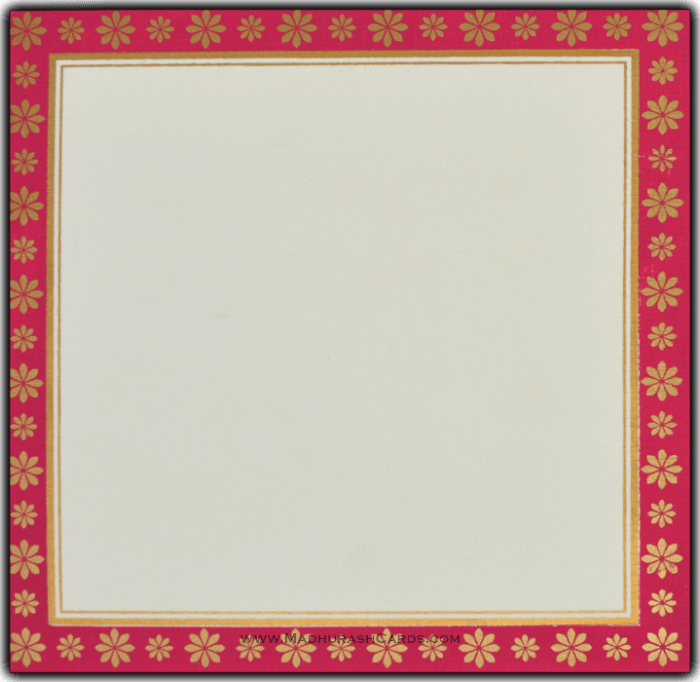 Muslim Wedding Cards - MWC-15157 - 3