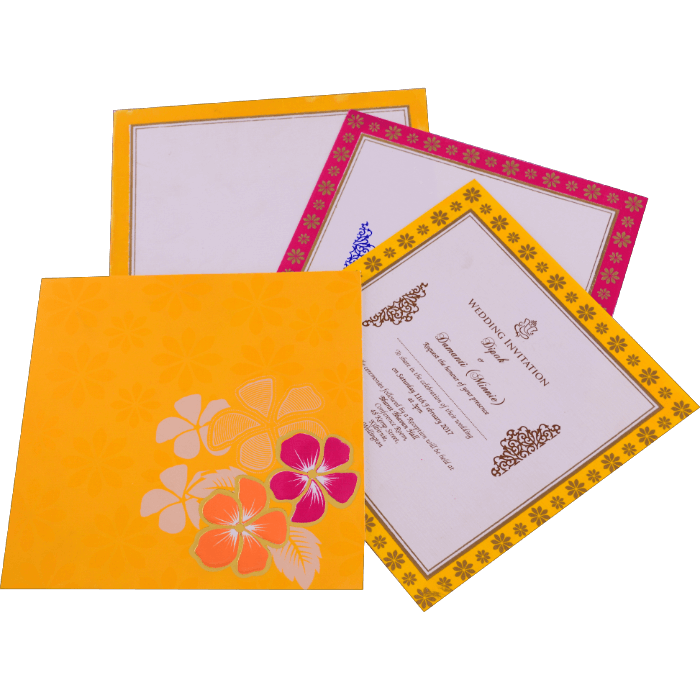 Muslim Wedding Cards - MWC-15157 - 5