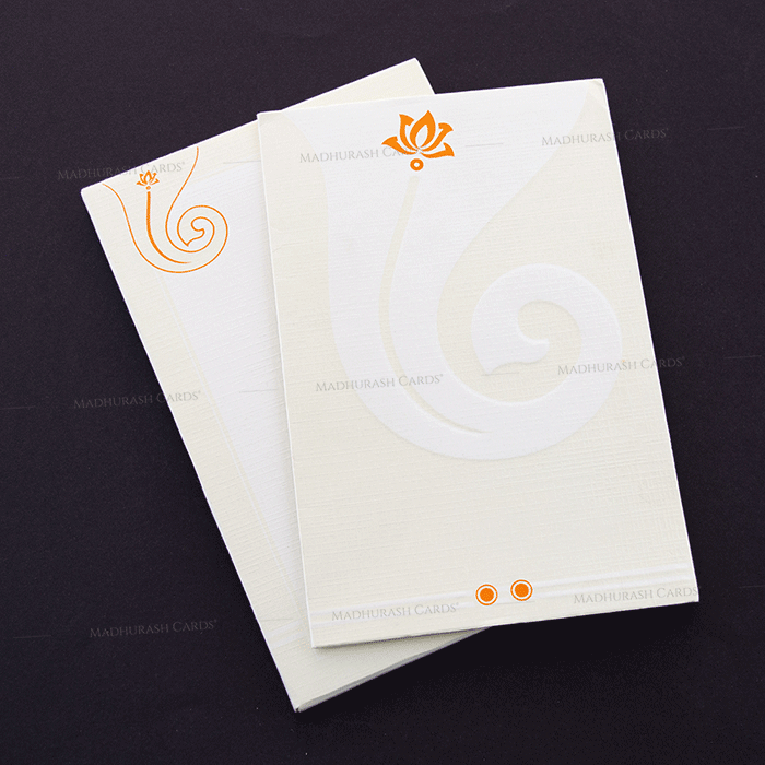 Hindu Wedding Cards - HWC-15206 - 2