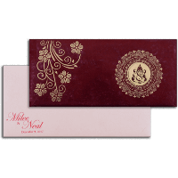 Hard Bound Wedding Cards - HBC-14108