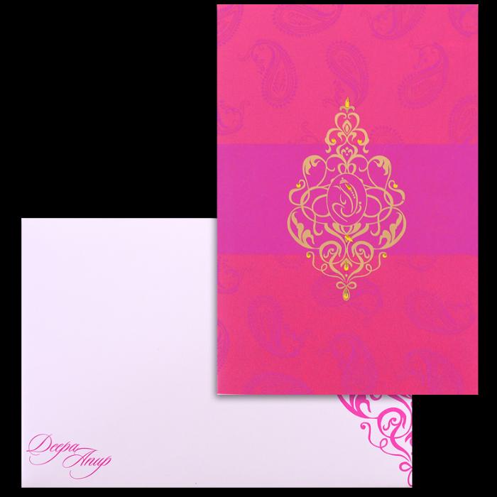test Custom Wedding Cards - CZC-9069PG