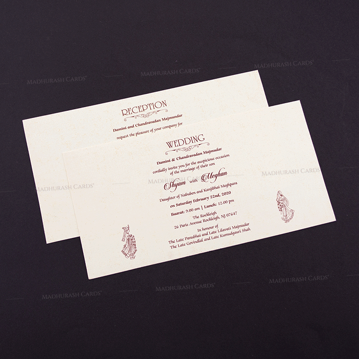 Shop Elegant A Cheap Hindu Wedding Cards Online Hwc