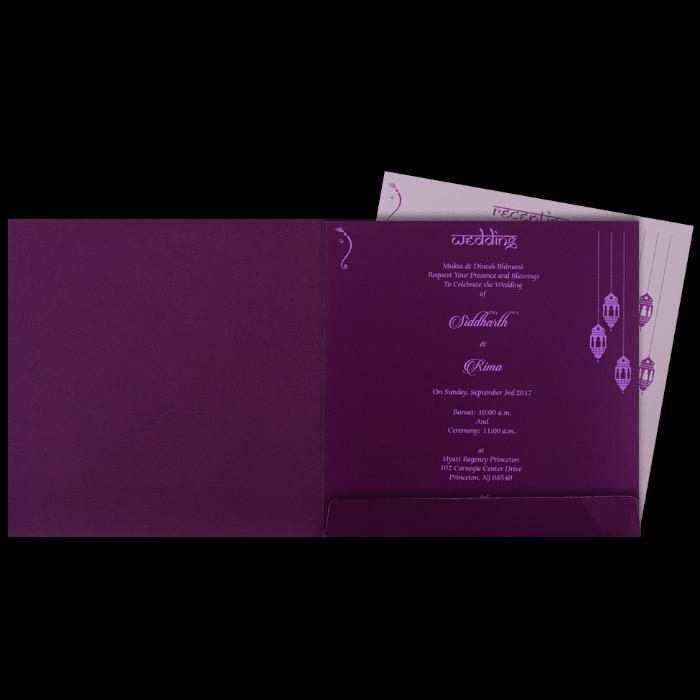 Hindu Wedding Cards - HWC-16110 - 3
