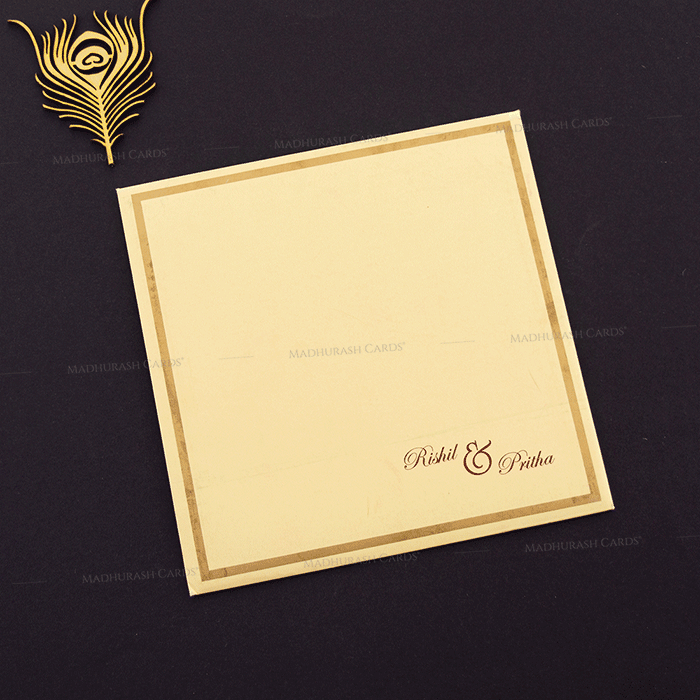 Hindu Wedding Cards - HWC-16151 - 3