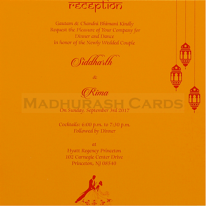 Hindu Wedding Cards - HWC-16151 - 5