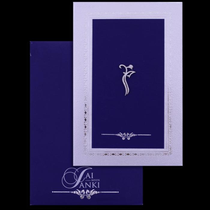 test Hard Bound Wedding Cards - HBC-16048