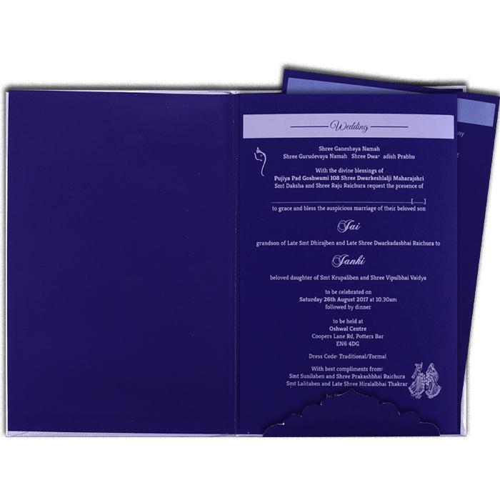 Hard Bound Wedding Cards - HBC-16048 - 3