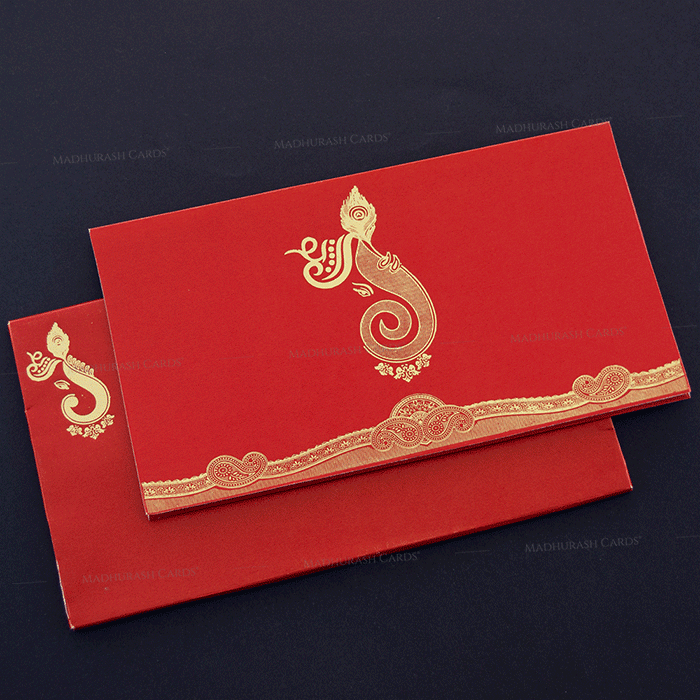 Hindu Wedding Cards - HWC-16178