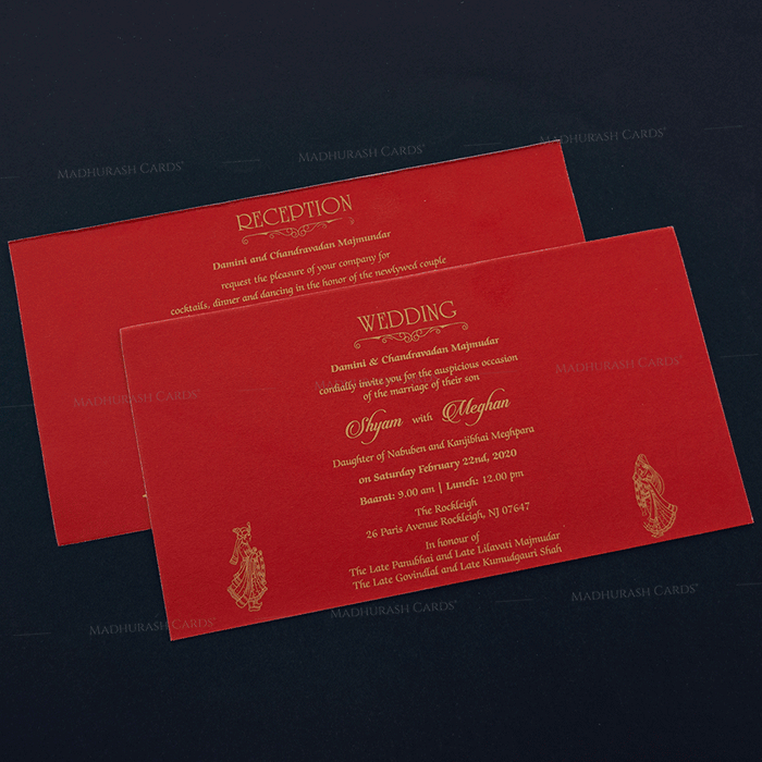 Hindu Wedding Cards - HWC-16178 - 4