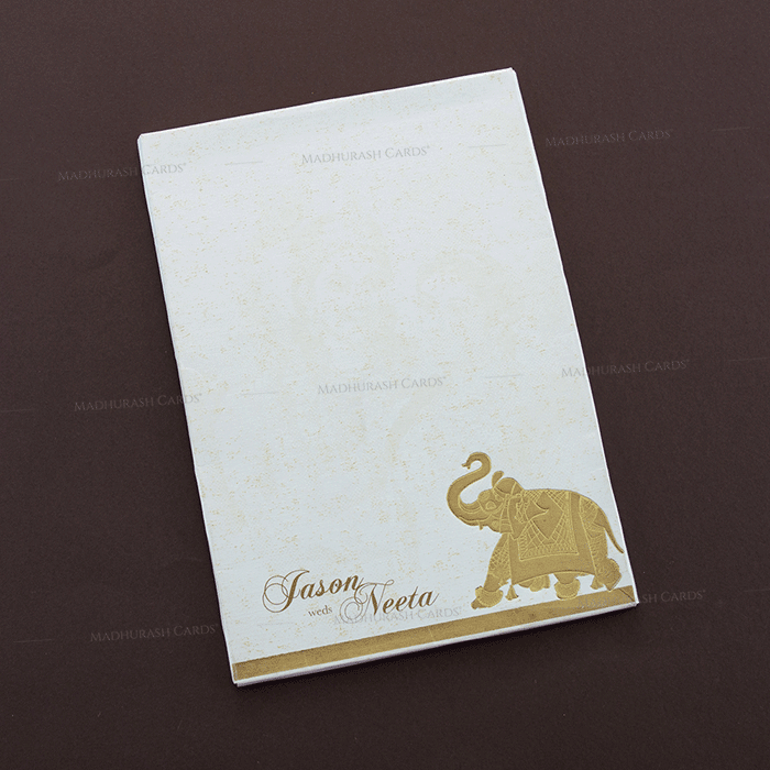 Hindu Wedding Cards - HWC-16167 - 3