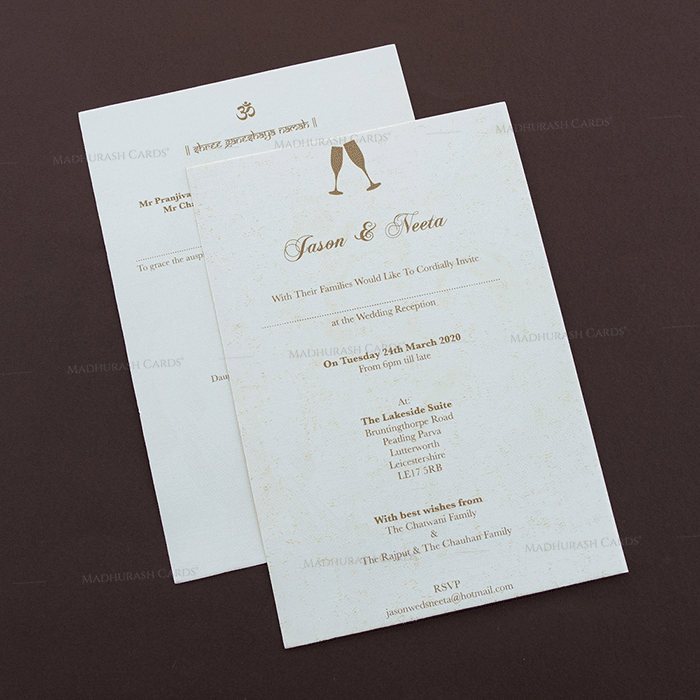 Hindu Wedding Cards - HWC-16167 - 4