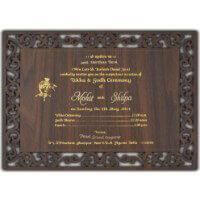 Custom Wedding Cards - CZC-9713