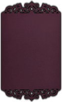 Custom Wedding Cards - CZC-9733V
