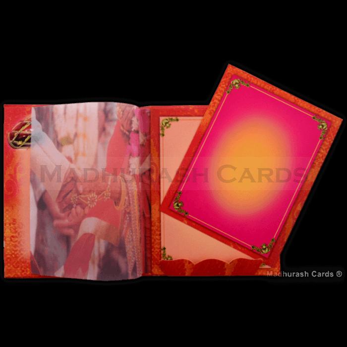 Hard Bound Wedding Cards - HBC-16024 - 4