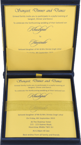 Luxury Invitations - LWC-101B - 3