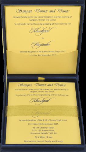 Luxury Wedding Cards - LWC-101B - 3
