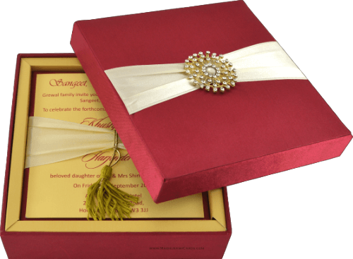 Luxury Invitations - LWC-102R - 3