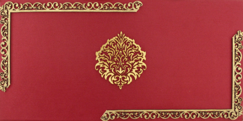 test Luxury Wedding Cards - LWC-103R