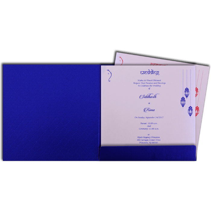 Hindu Wedding Cards - HWC-16095 - 3
