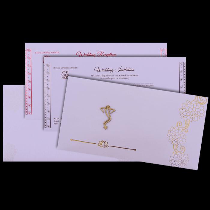 Hindu Wedding Cards - HWC-16183 - 5
