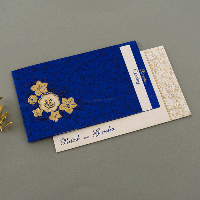 Hindu Wedding Cards - HWC-16084 - 2