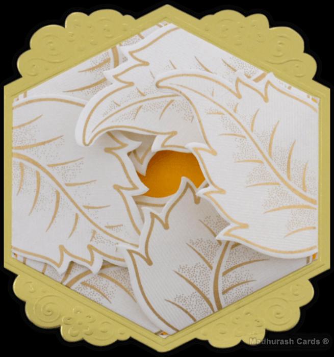 Muslim Wedding Cards - MWC-16219