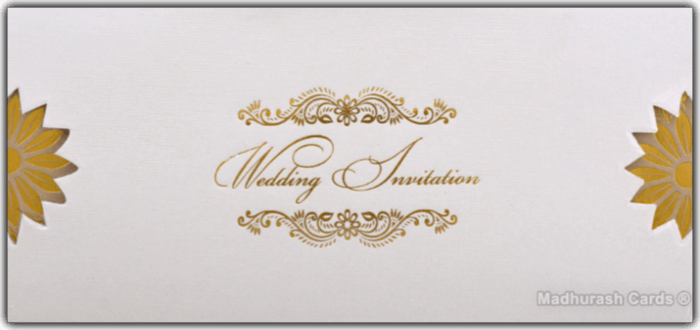 Muslim Wedding Invitations - MWC-16288 - 2