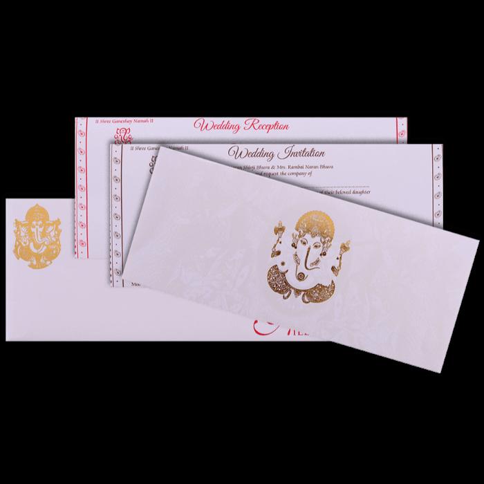 Hindu Wedding Cards - HWC-16306 - 5