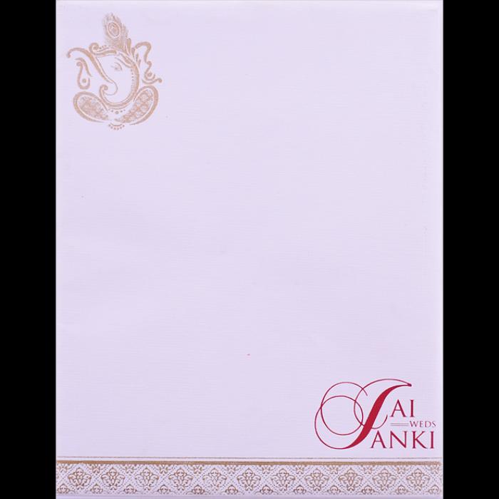 Hindu Wedding Cards - HWC-16237 - 4