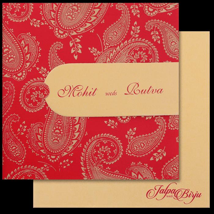 Hindu Wedding Cards - HWC-16156
