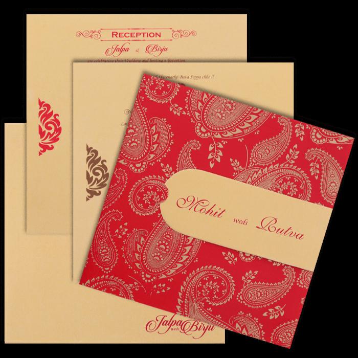 Hindu Wedding Cards - HWC-16156 - 5